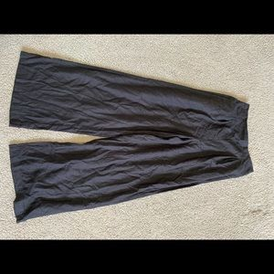 black wide leg pants from cotton on
